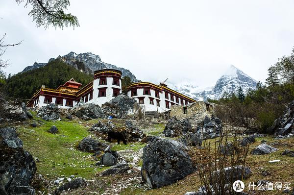 冲古寺 海拔3880米