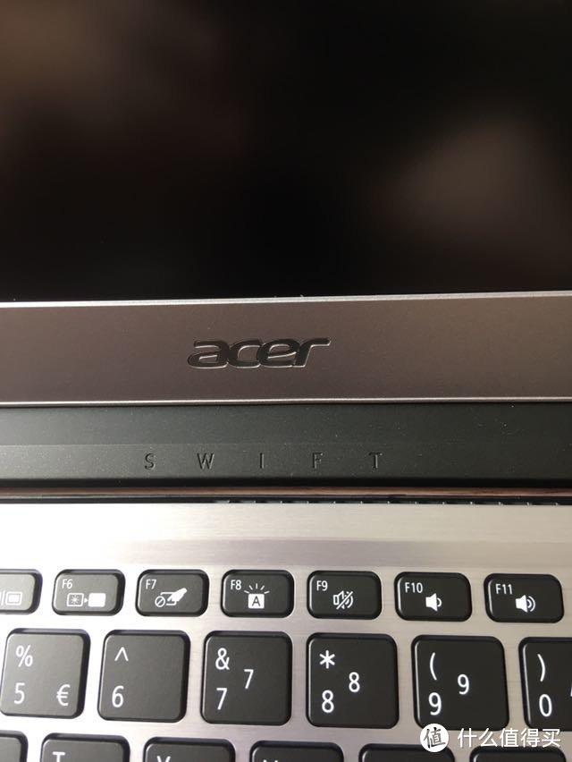 Acer 宏碁 蜂鸟 Swift3 14英寸笔记本 开箱