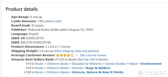 美亚The very busy spider介绍,蓝思130L。 可能书的版本不一样
