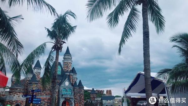 模仿的迪士尼的建筑风格