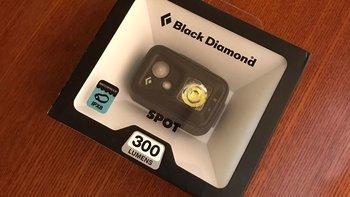 黑钻spot300流明户外led头灯开箱特写(正面|头带|主灯|警示灯|开关)