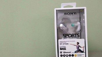 索尼 WF-SP700N 真无线 降噪运动耳机外观展示(充电盒|接口|指示灯|喷涂)