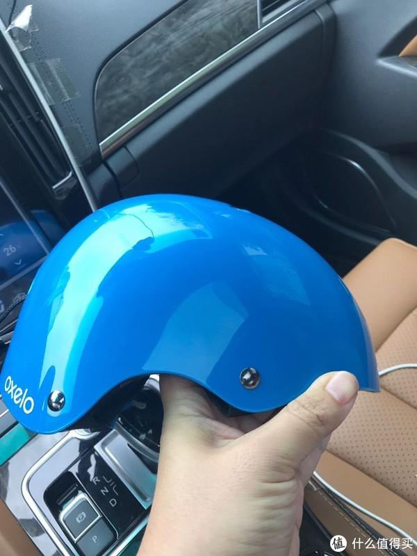 迪卡农oxelo儿童滑冰保护头盔晒物分享