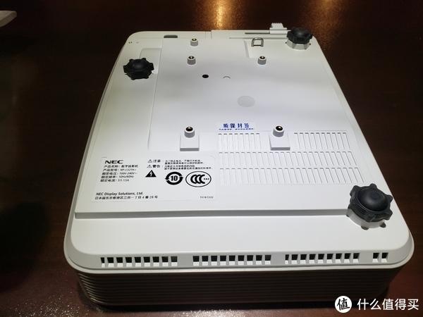 用一只手托起的私人家庭影院梦想—NEC 日电 U321H+ 投影电视 体验