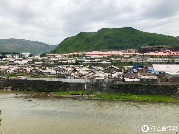 朝鲜惠山市中心
