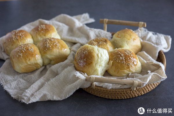 芝麻软面包