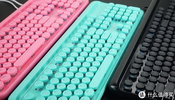 少女心爆炸 宜博K771机械键盘体验