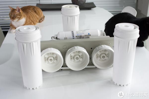 要流量不要二次污染:佳尼特 CDR550-A1 大流量无桶RO净水器 体验