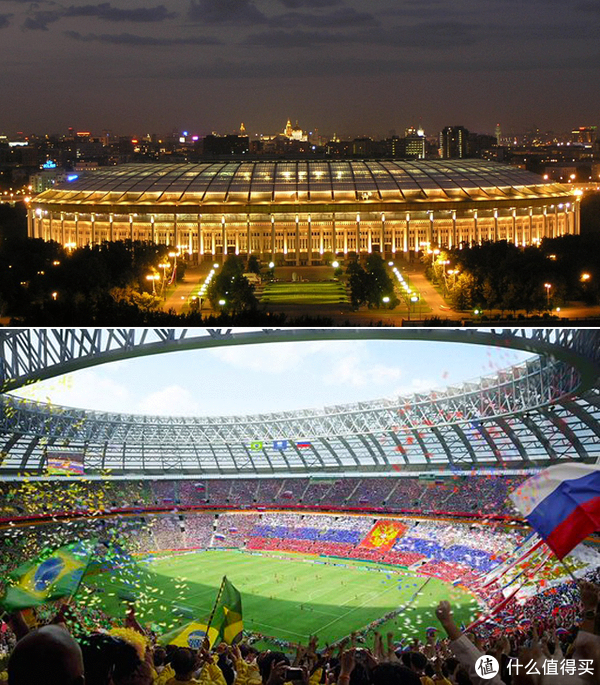 俄罗斯世界杯赛场-卢日尼基体育场