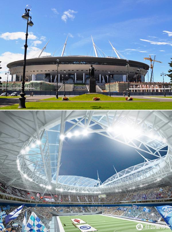 俄罗斯世界杯赛场-圣彼得堡体育场
