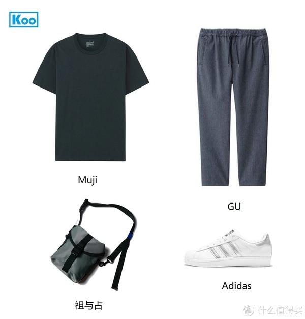 男生夏季穿搭 篇三:小白鞋搭配