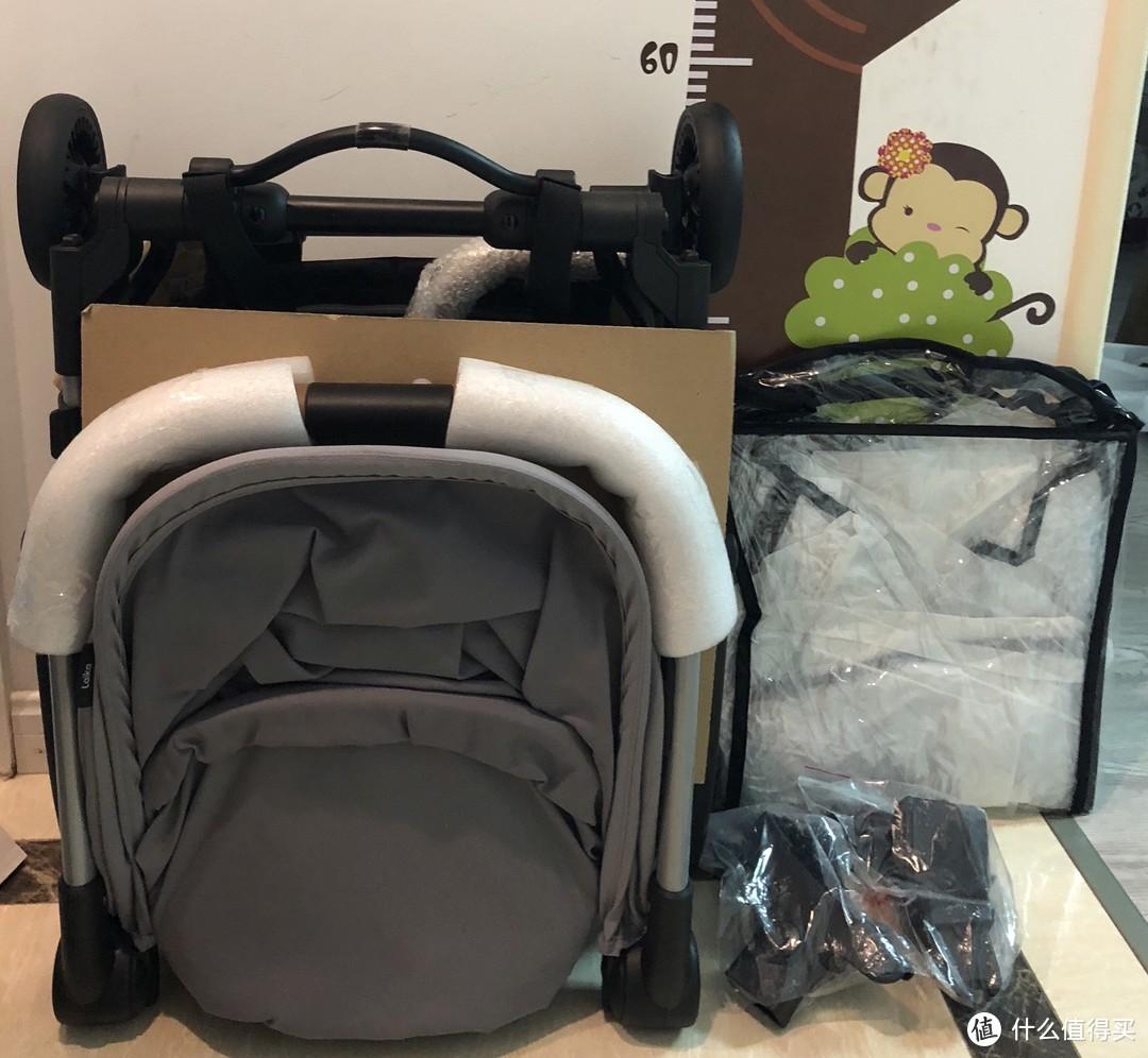 来自Kidsroom的礼物,娃的第三辆推车—Maxi-Cosi 迈可适 Laika 轻便旅行婴儿车