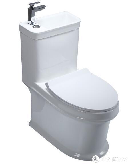 带洗手盆马桶