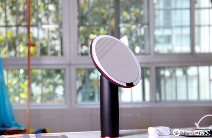 妹子化妆桌必备神器:京造智能感应化妆镜