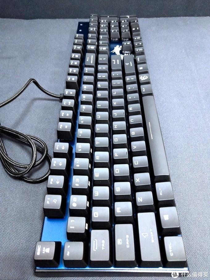 有灯也可以很酷----简评微星Vigor GK50 RGB电竞机械键盘