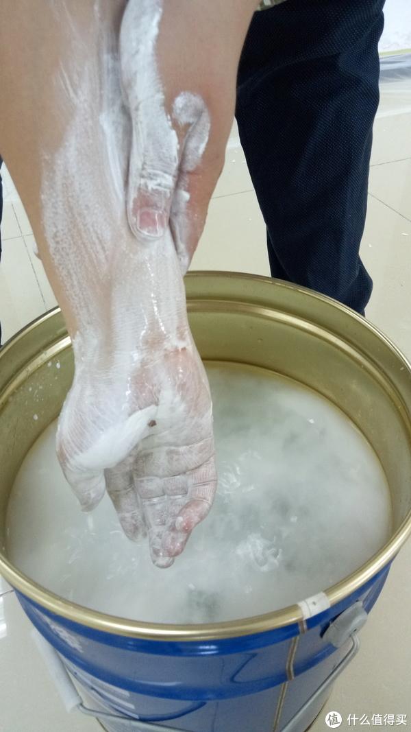 清水可洗的水漆