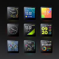 埃微能量运动手表P1功能盘点(运动模式|防水|GPS|心率检测|疲劳度检测)