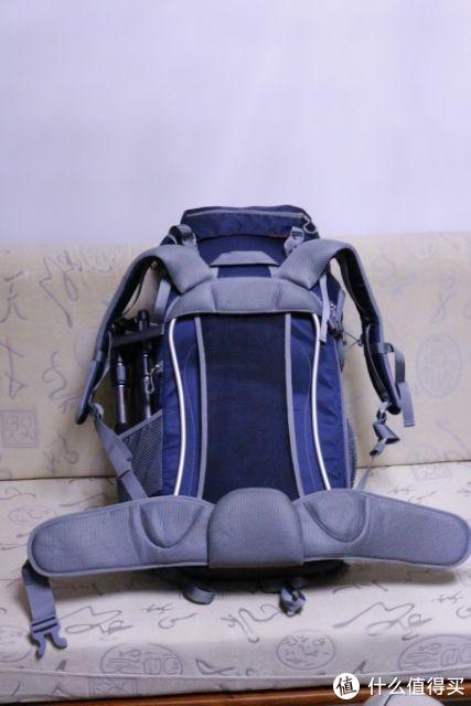 登山包背面TSS背负系统