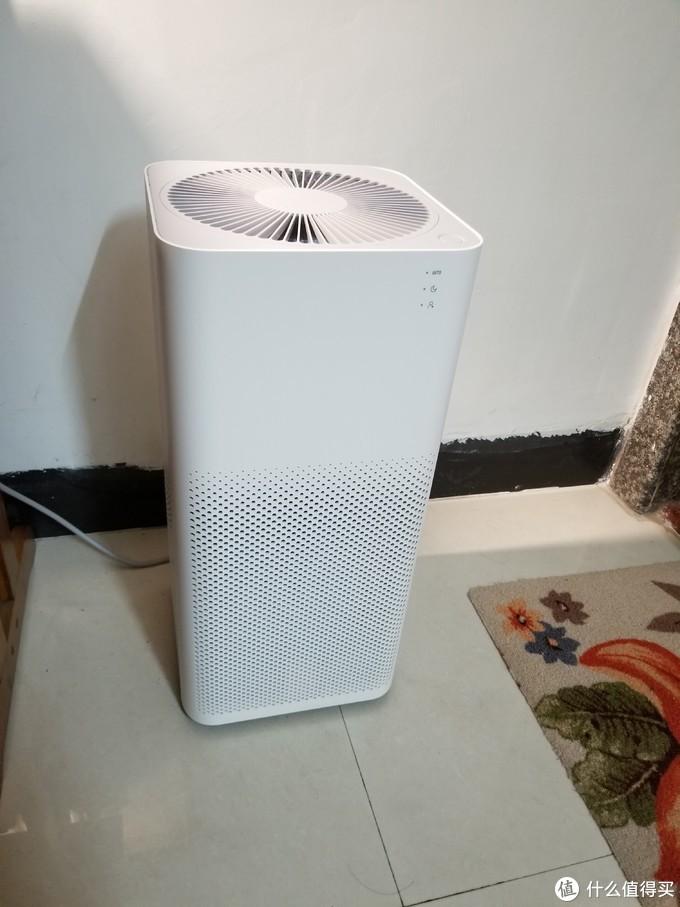 新买回来的小米空气净化器2