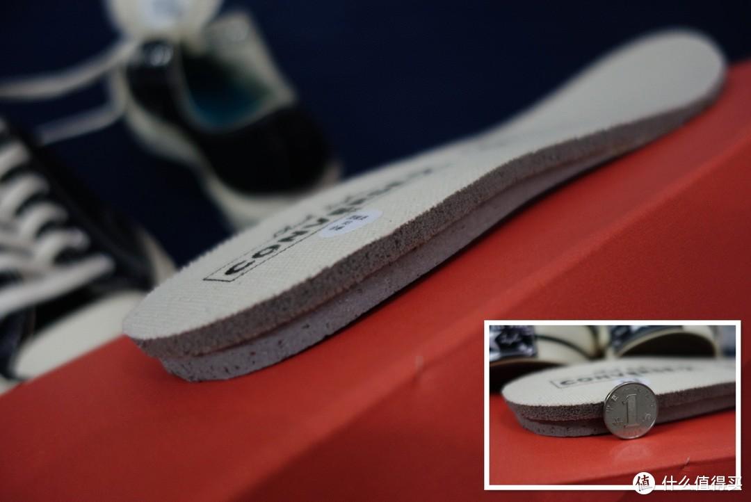 厚厚的鞋垫,脚感有质的提升!