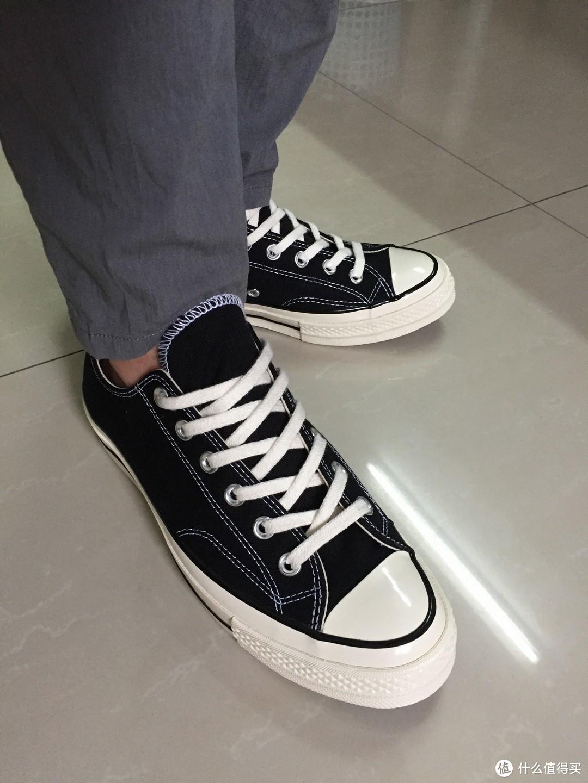 Converse 匡威 1970's 短款 帆布鞋 晒单