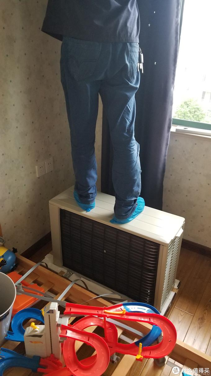 买了台空调—三菱电机JL09