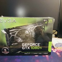 EVGA- GTX 1080 Ti SC Blank Edition 显卡开箱展示(风扇|散热片|主板|颗粒|接口)