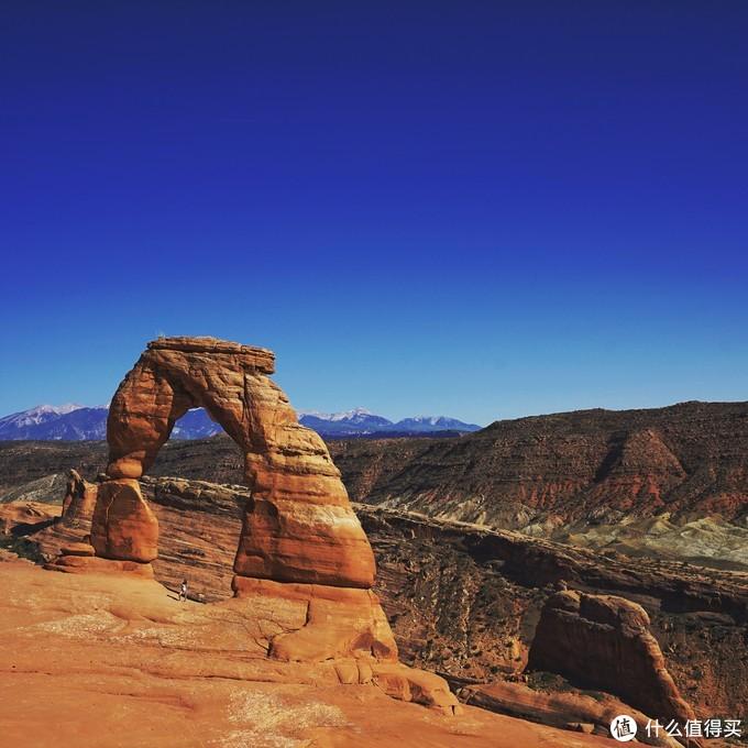 犹他州地标——精致拱门