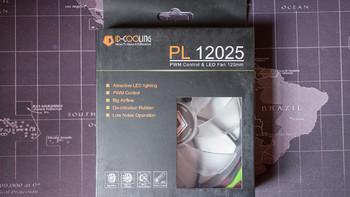 COOLING PL12025 机箱散热风扇外观细节(电源线|底板扣具|水泵|风扇|水管)