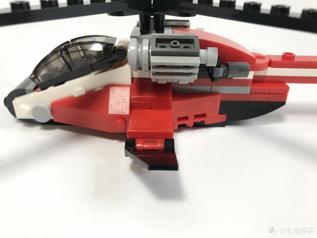 LEGO 乐高 31057 创意百变系列 直升机突击AB模式开箱