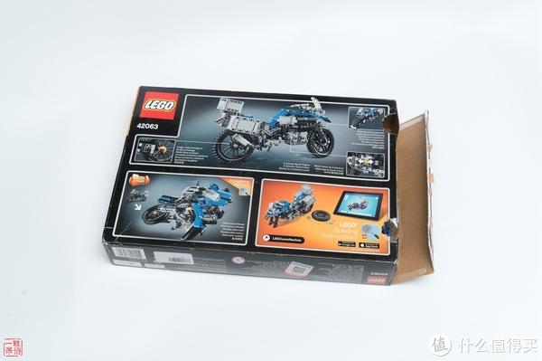 乐高还能这么玩 篇八:LEGO 乐高 42063 宝马 R 1200 GS Adventur
