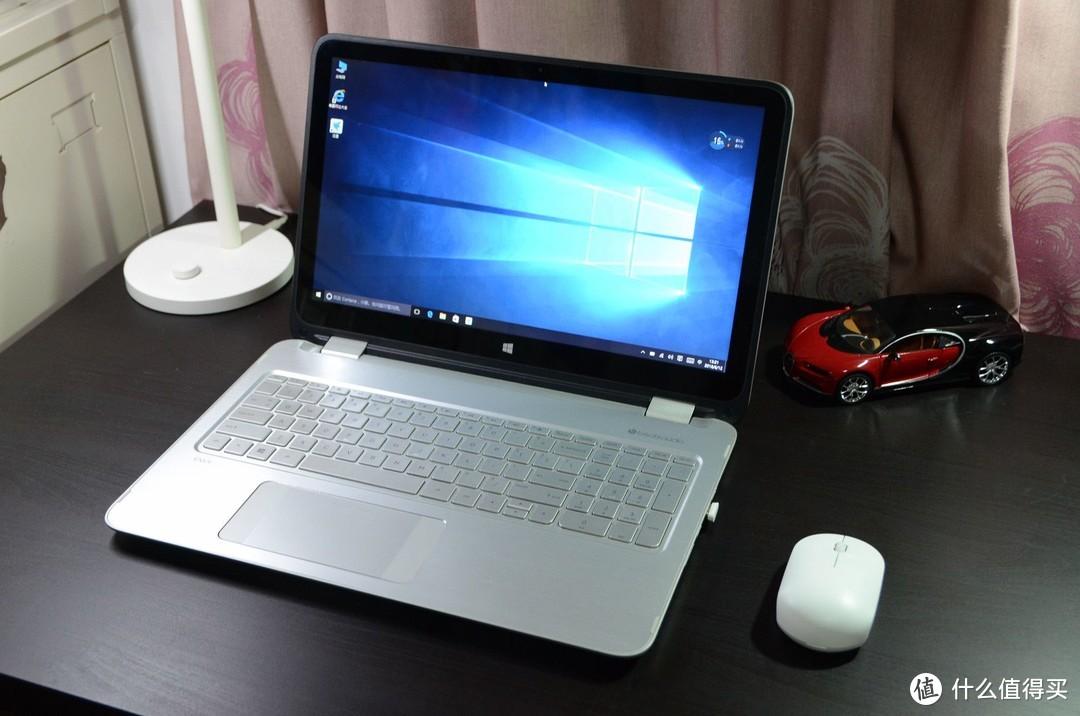 HP ENVY 15 X360换英睿达BX300固态、小米鼠标青春版