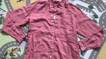 GU 亚麻男士衬衫开箱设计(领口 口袋 袖口 材质 衣长)