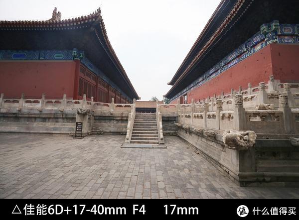 这是佳能6D单反+镜头17mm端拍摄的北京太庙一处建筑。