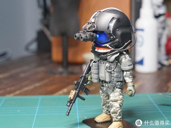 大头儿子军团—FigureBase TRICKYMAN系列 003 美军海豹6队破门手模型开箱