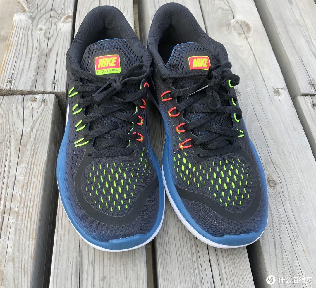 散步加跑步备用鞋:Nike 耐克 flex 2017 跑鞋晒单