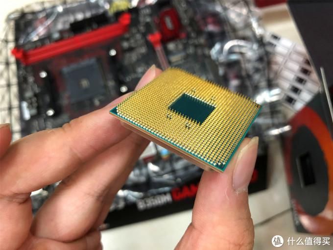 密密麻麻的CPU针脚
