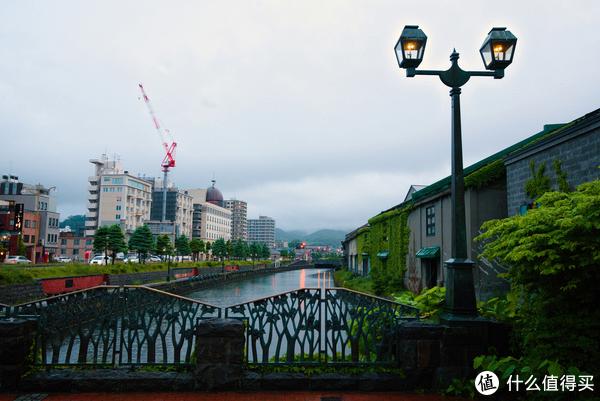 小樽运河两岸风光
