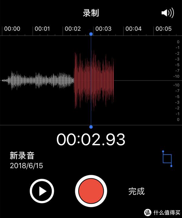 开启降噪情况下,背景噪音要比未开启降噪低很多
