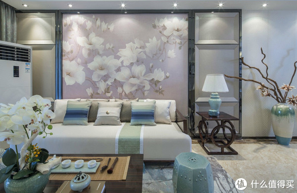 装修设计 篇二:装修设计丨二居室新中式风格,打破传统新思路