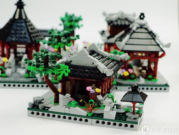 """""""风摆莲衣干,月背鸟巢寒。""""中国风积木 星堡 苏州园林之六:芙蓉榭评测"""