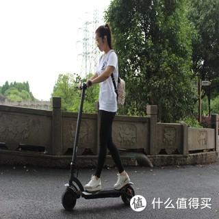 我的滑板车,时尚时尚最时尚——小姐姐驾驶水星动力Wide Wheel电动滑板车心得体会