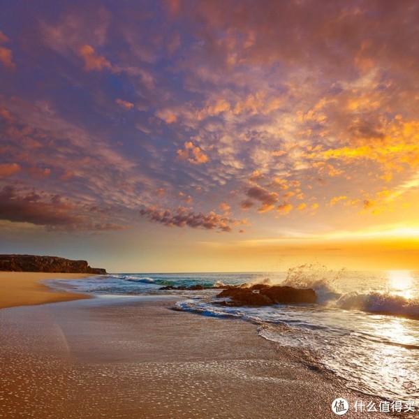 ▲来自ins的图片抓住了阳光灿烂的落日余晖