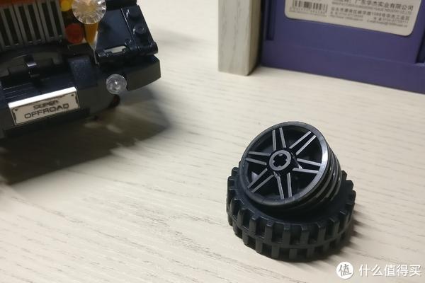 轮胎来个特写,很精致