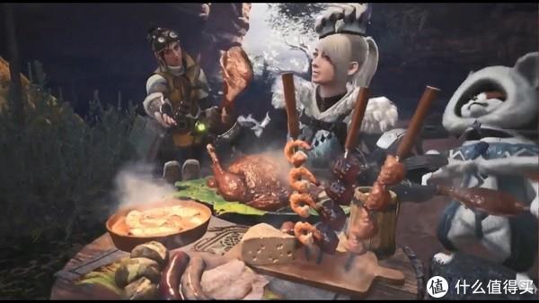 打猎之前可要吃顿好的哦!