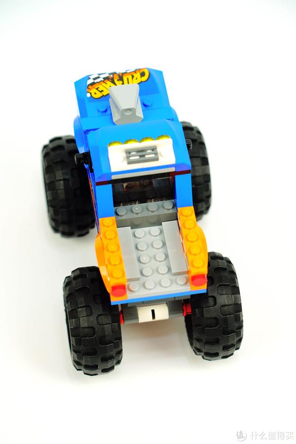 这不是我要的疯狂和暴力:LEGO 乐高 60180 City 城市组 巨轮越野车 对比评测