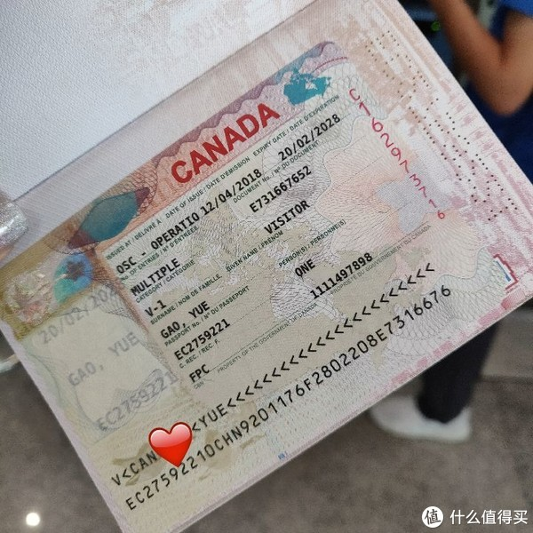 记一次行程未知的加拿大之旅Day1