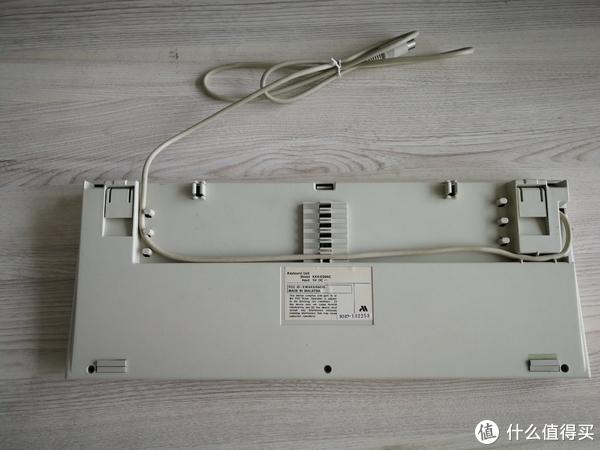 古董键盘—米苏米 KKR-E99AC 弹簧薄膜键盘开箱