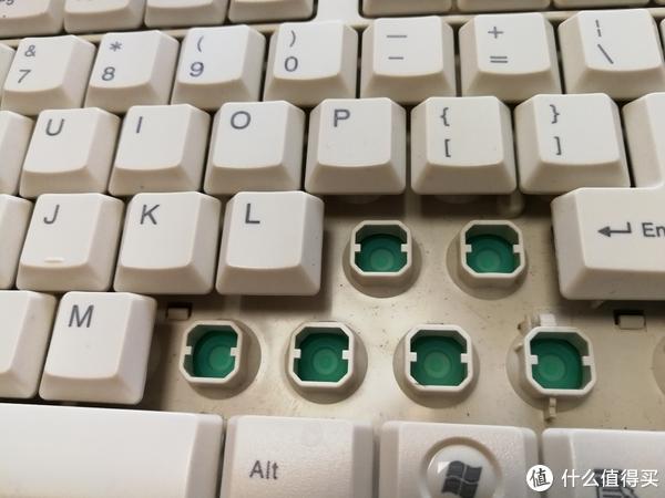 古董键盘—KEY TRONIC KT400国产键盘