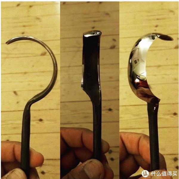 手工DIY简易挖勺刀